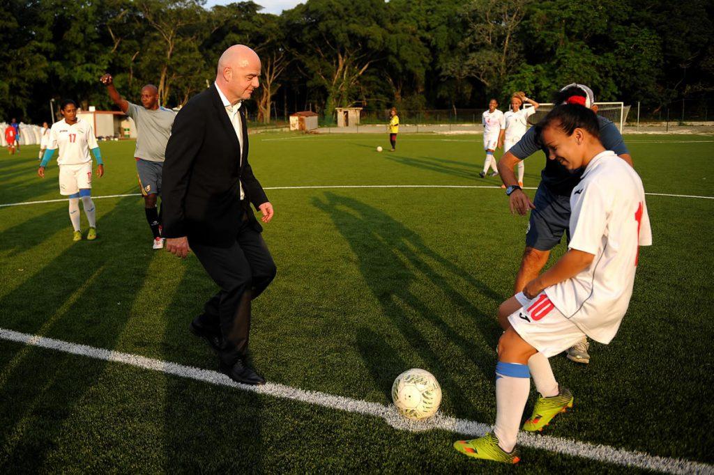 Gianni Infantino, titular de la FIFA. Foto: AFP