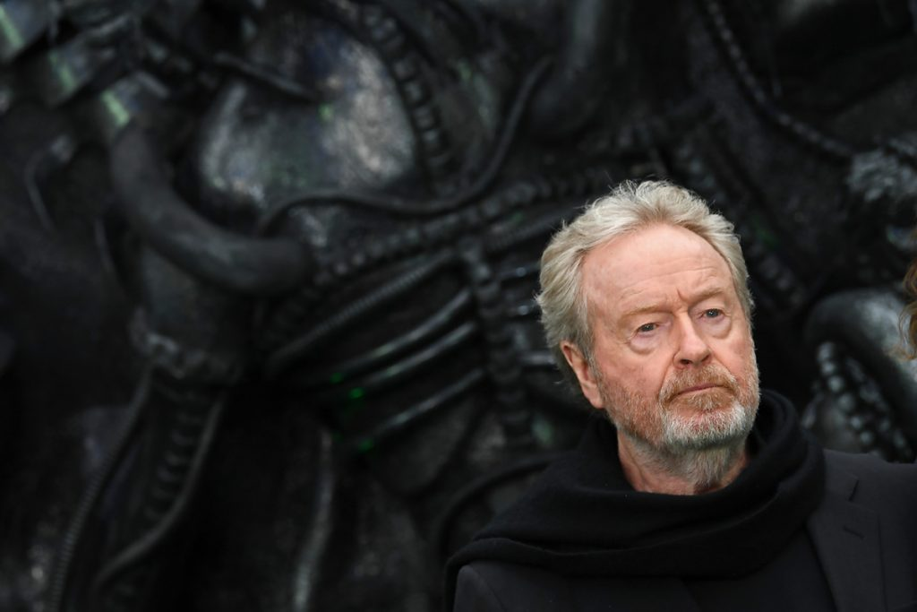 Ridley Scott, director de Alien. Foto: AFP