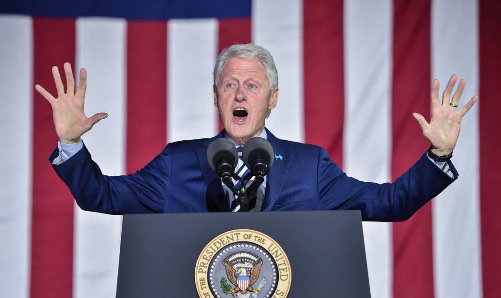 Bill Clinton. Foto: AFP