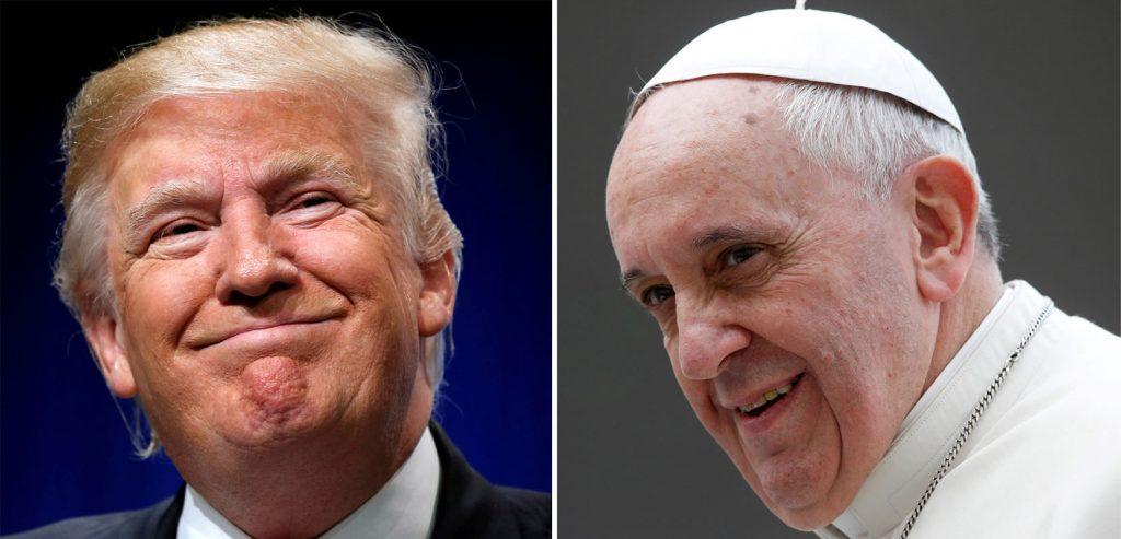 El Heraldo de México. Donald Trump y el papa Francisco. Foto: Reuters