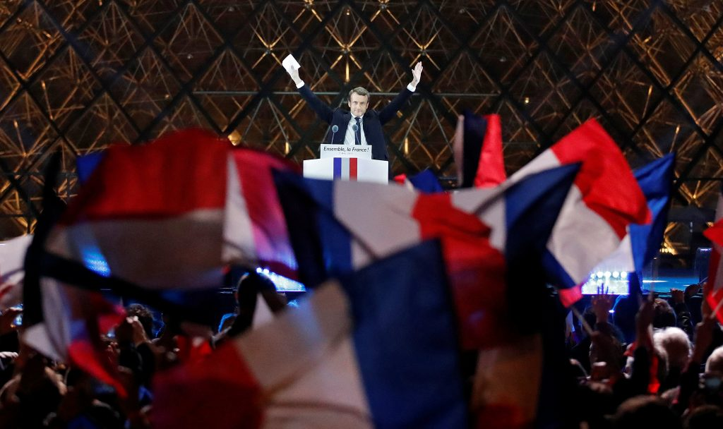 Galería: Promete Macron combatir el miedo y las divisiones