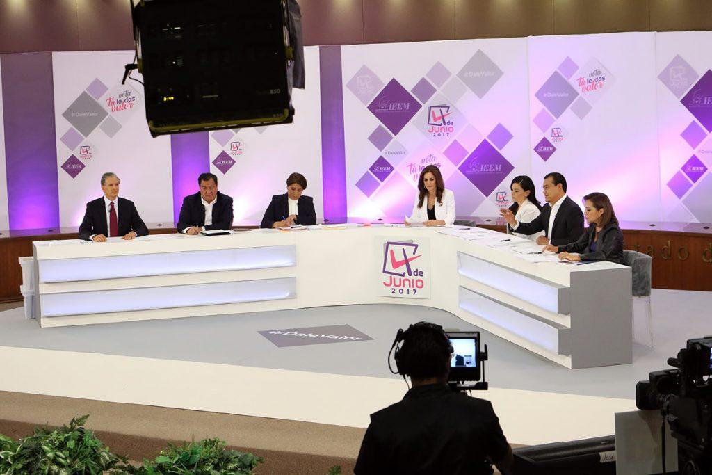 El Heraldo de México. Debate en Edomex. Foto: Cuartoscuro