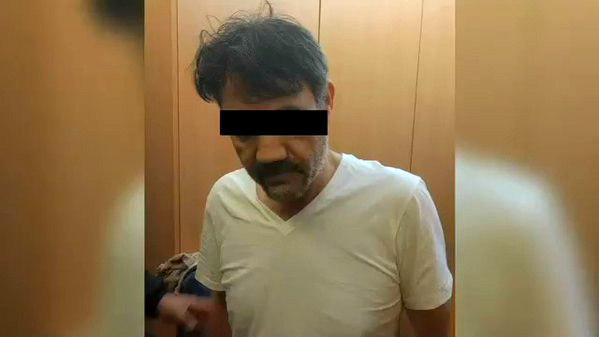 Foto distribuida a medios de la detención de Dámaso López, sucesor del capo Joaquín 'Chapo' Guzmán en el cártel de Sinaloa. FOTO: EFE