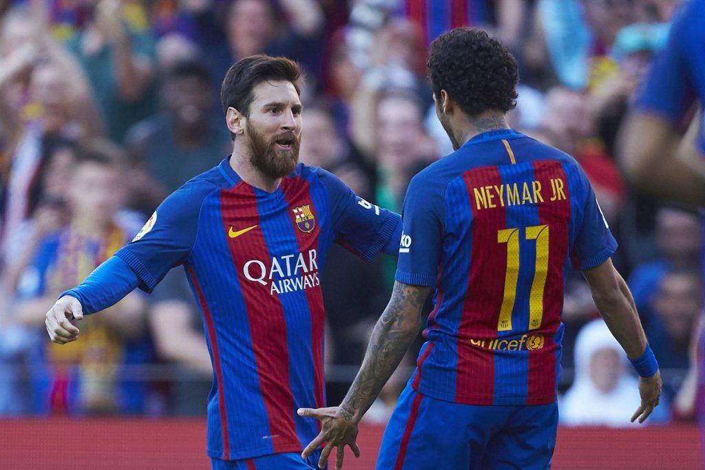 FOTO EFE. Lionel Messi consiguió doblete