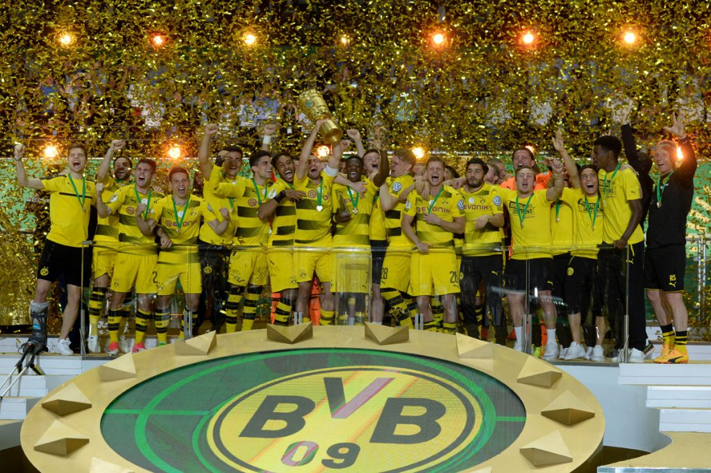 FOTO AFP. Cuarto Tútulo de Copa para el Dortmund