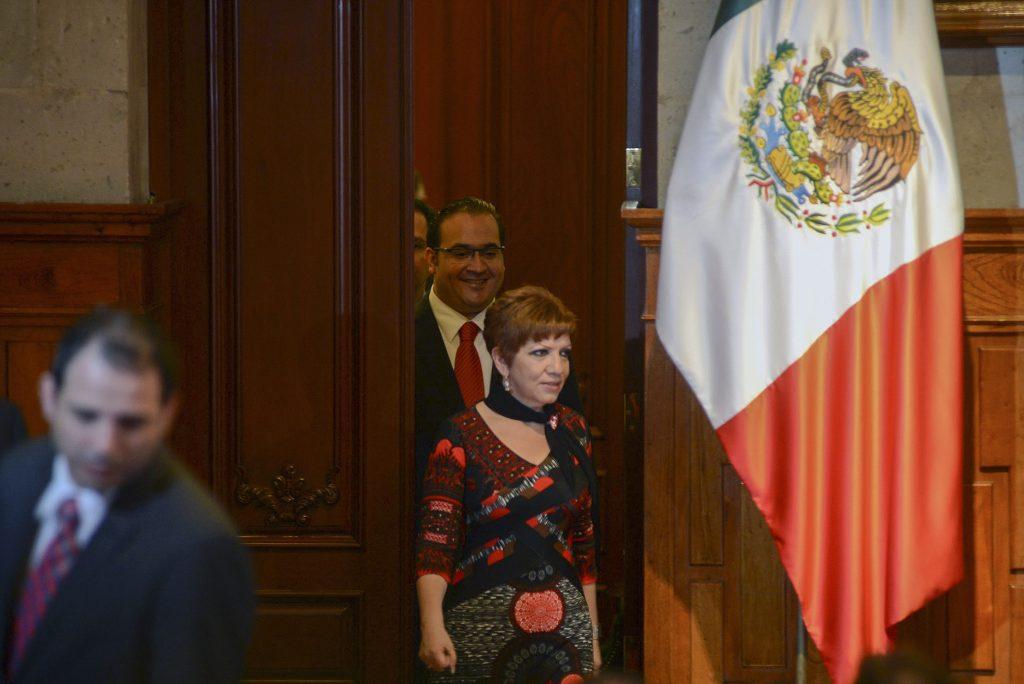 Gina Domínguez Colío, en prisión preventiva por un año luego de su arresto