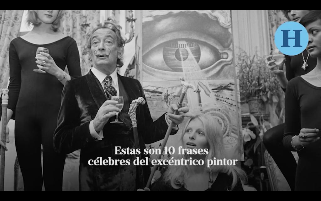 10 de las frases más memorables de Salvador Dalí