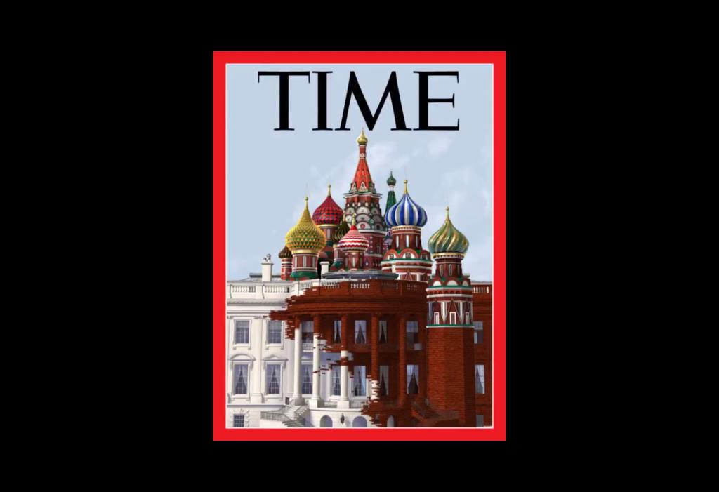 La Casa Blanca se 'kremliniza' en la portada de Time