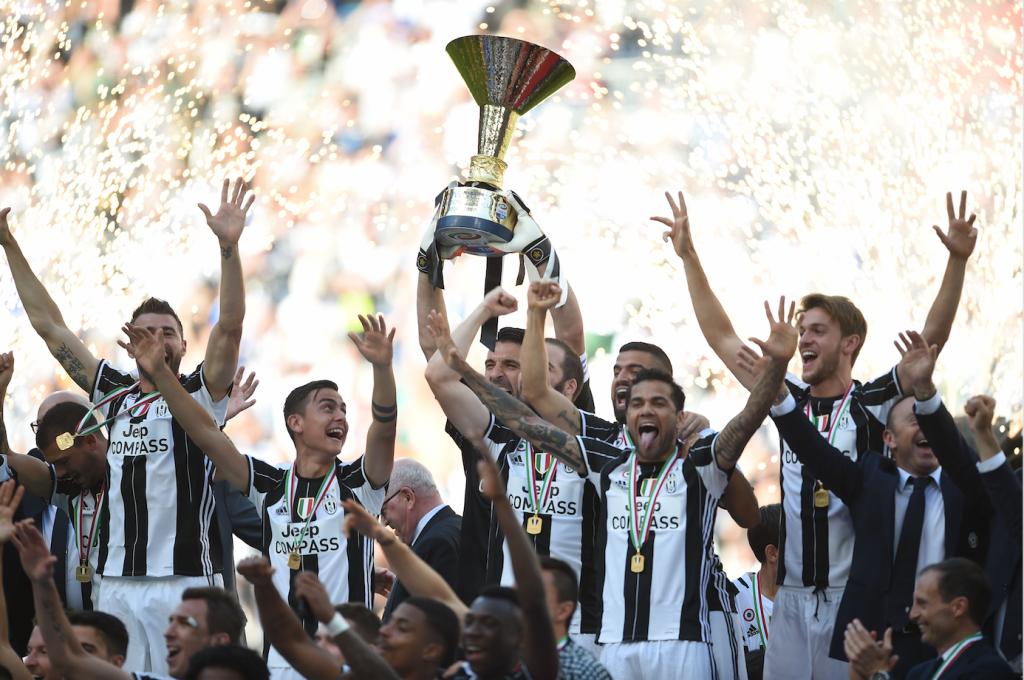 La Juventus, seis campeonatos en la palma de su mano