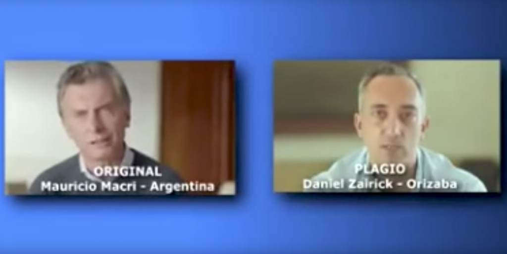 Daniel Zairik, apenado por copiar a Macri