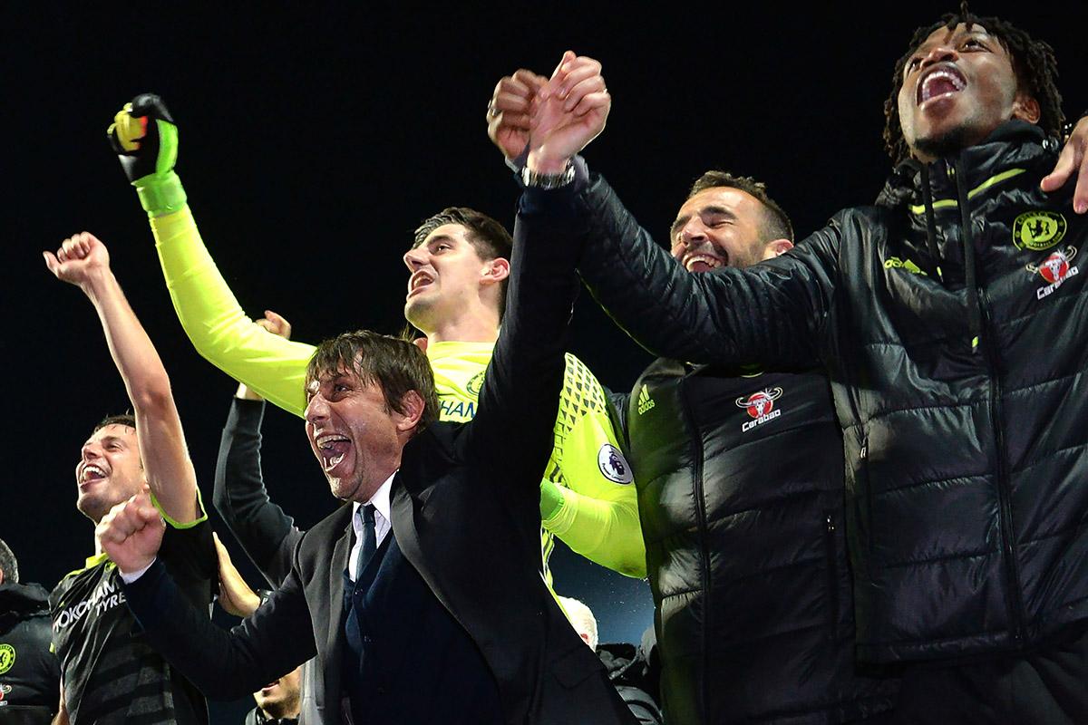 FOTO AFP. Alberto Conte es apenas el octavo técnico extranjero en coronarse en Inglaterra