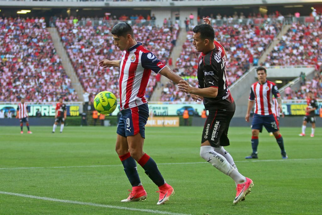 Chivas vs Atlas. Foto: Cuartoscuro