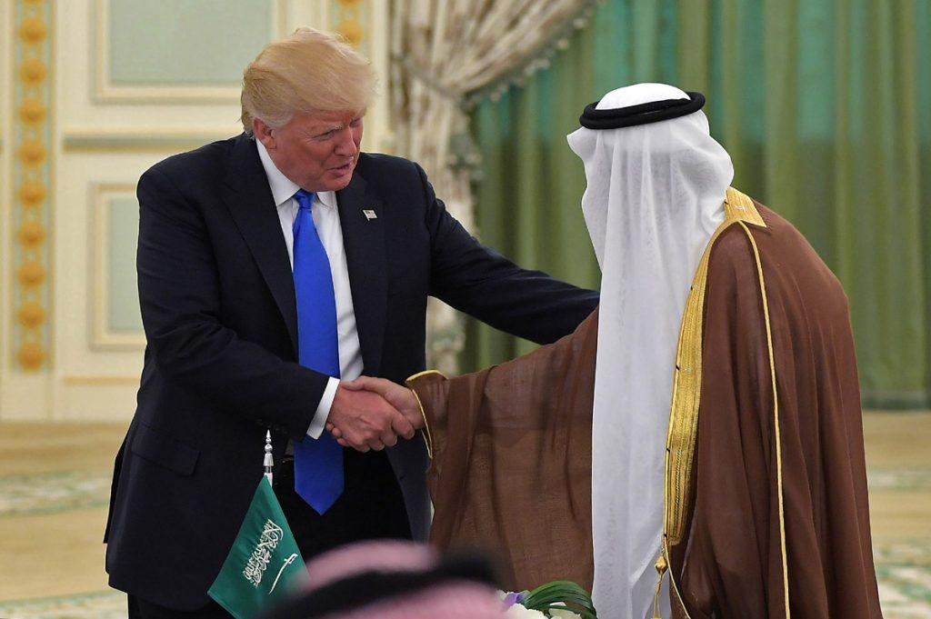 FOTO AFP. Firman acuerdo por más de 100 mil millones de dólares en cooperación militar