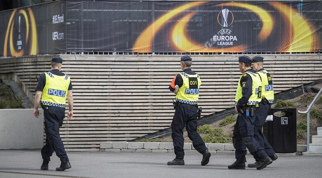 FOTO AFP. Las medidas de seguridad fueron reforzadas