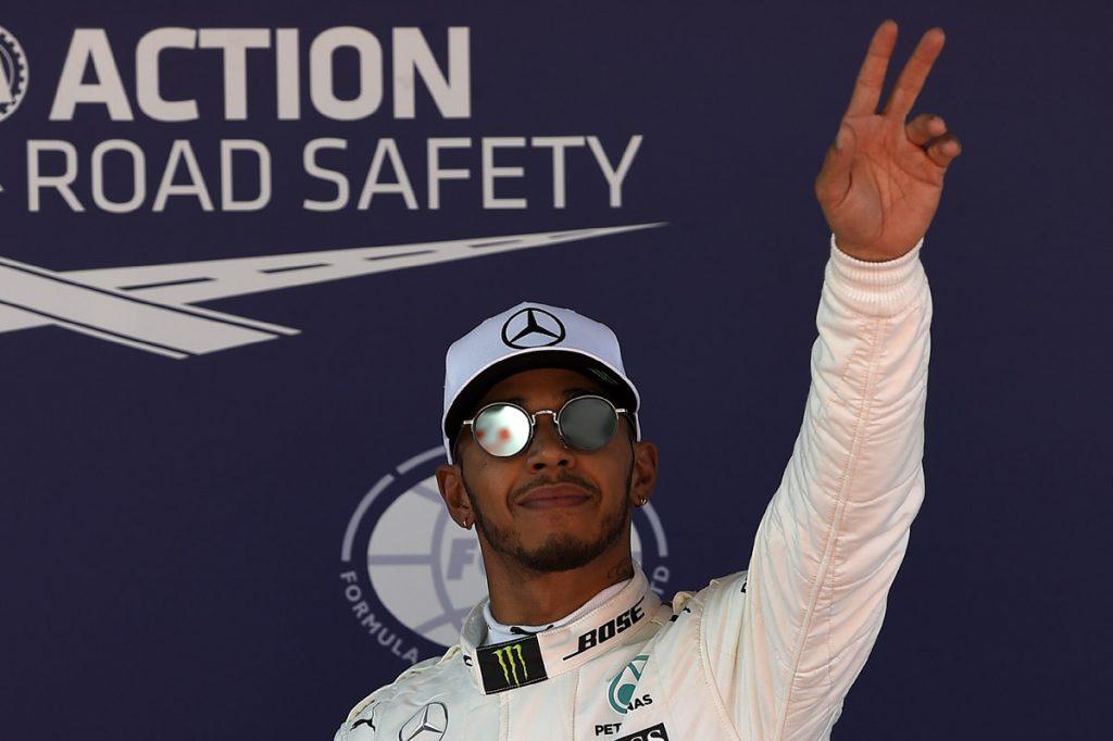 FOTO AFP. El piloto británico está a la caza del líder Sebastian Vettel