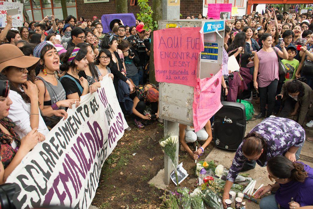 Marcha contra la violencia de género en la UNAM, el pasado 5 de mayo. FOTO: MARIO JASSO /CUARTOSCURO