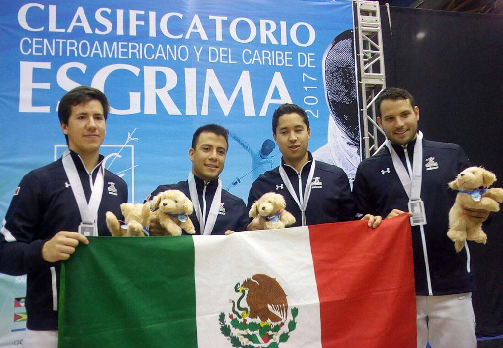 FOTO: COM El equipo varonil se adjudicó la plata