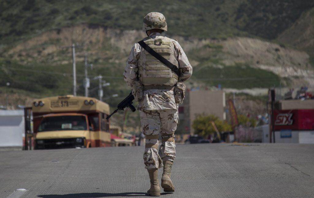 El Heraldo de México. Militares. Foto: Cuartoscuro