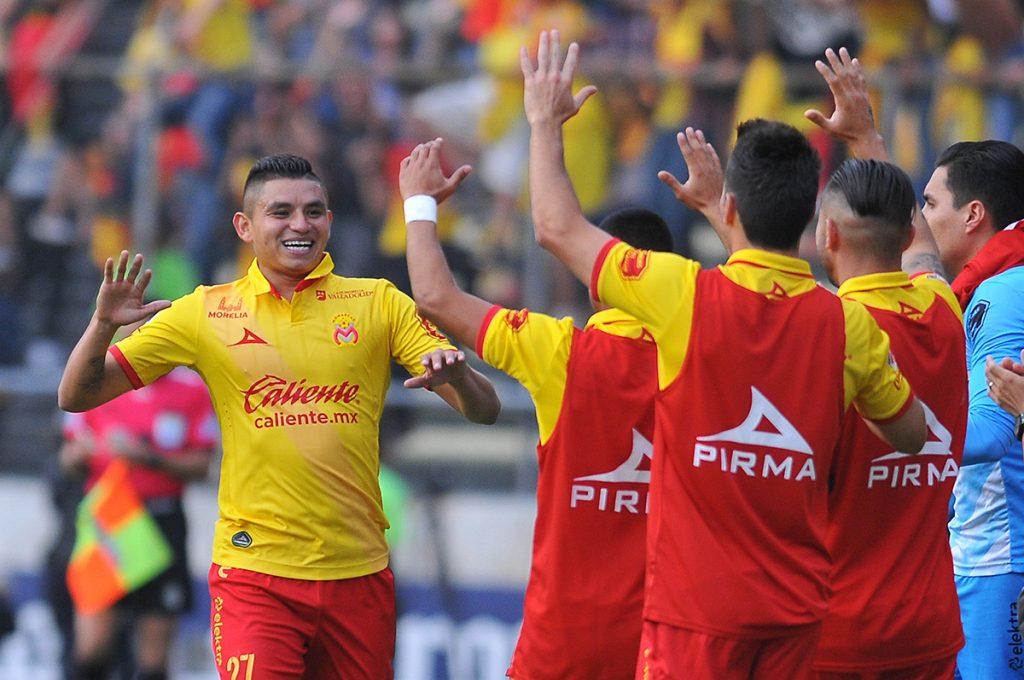 FOTO AFP. Miguel Sensores marcó el solitario gol