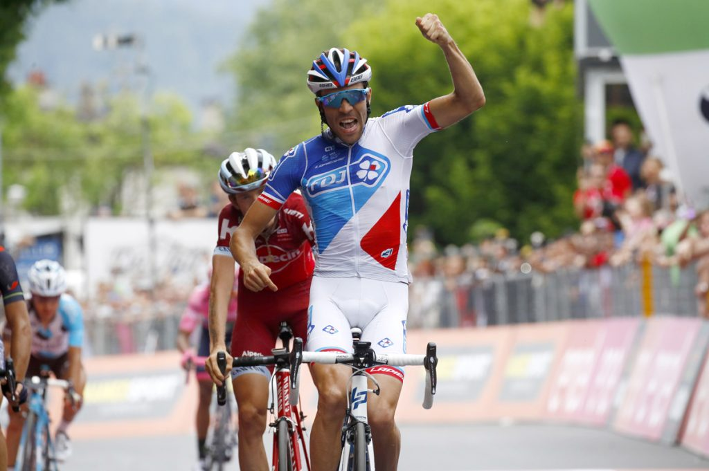 FOTO AFP. El ciclista galo triunfó con un gran sprint final.