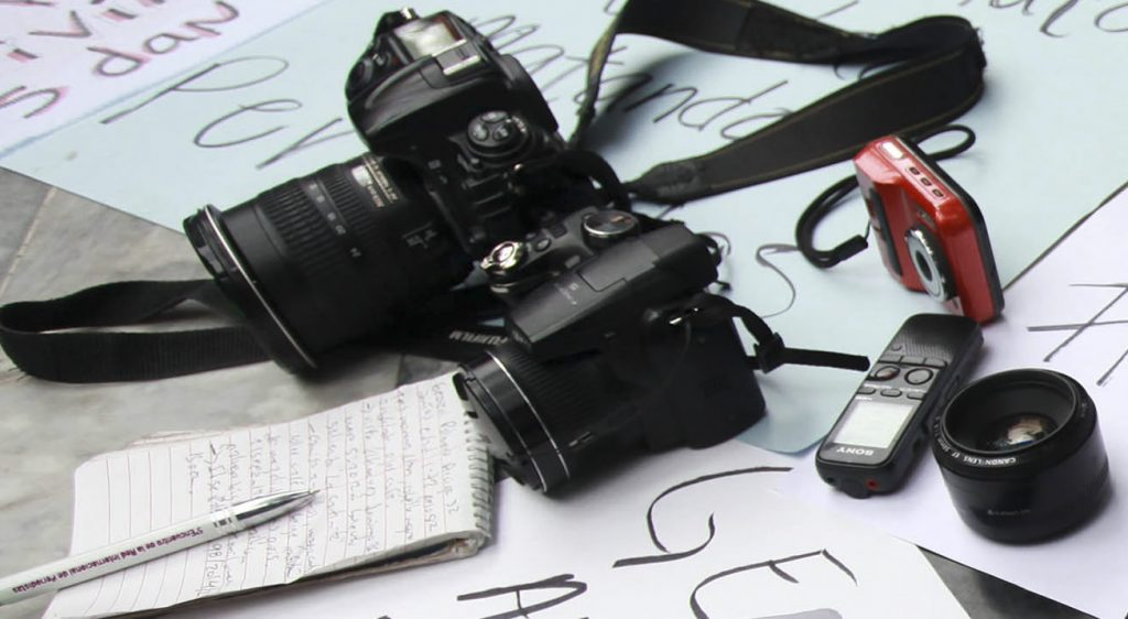 Periodistas. Foto: Cuartoscuro