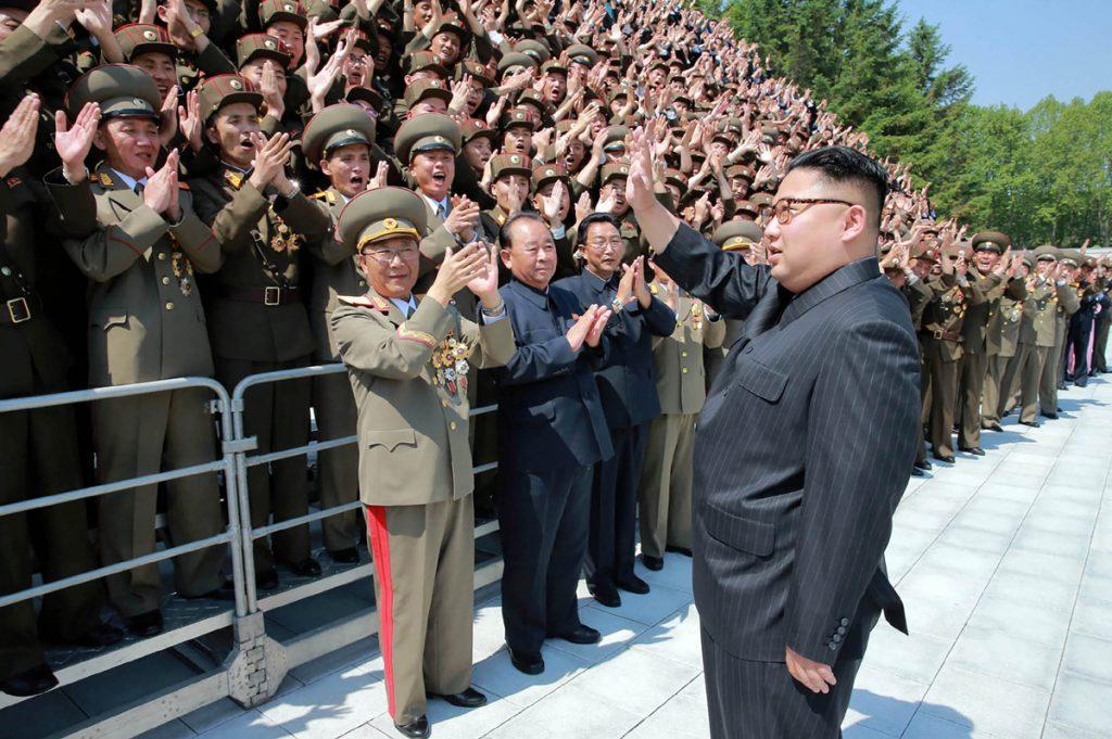 FOTO AFP. Kim Jong-Un lo calificó como 'una grave provocación militar'