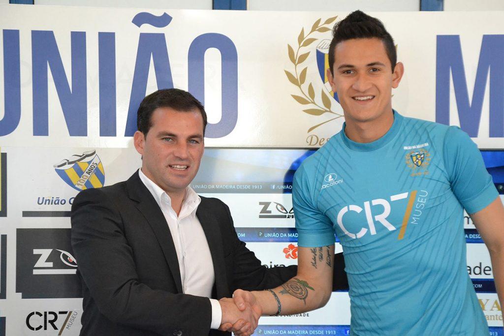FOTO AP Gudiño jugó a préstamo con el Unión Madeira
