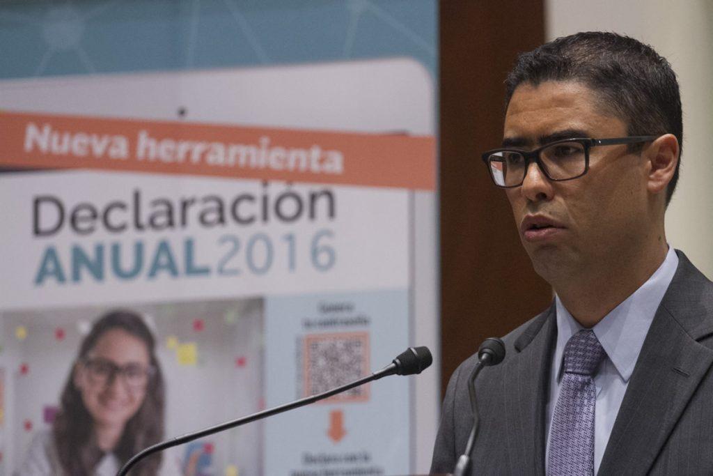 Osvaldo Santín, jefe del Sistema de Administración Tributaria (SAT). Foto: Cuartoscuro