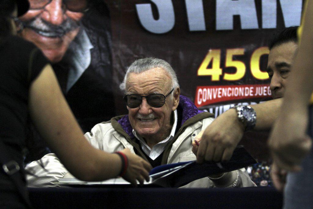 Stan Lee empezó a trabajar en 1939 en Marvel como asistente. FOTO CUARTOSCURO