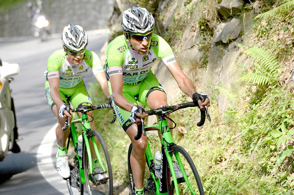 FOTO: AP Ambos ciclistas también fueron suspendidos por el equipo Bardiani