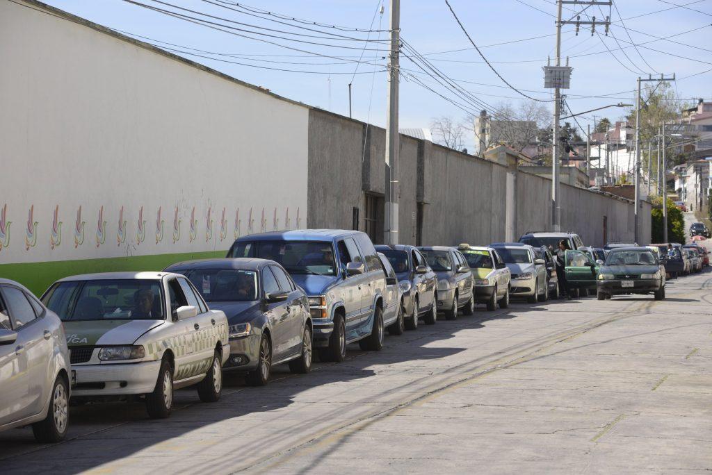 Vehículos en el Estado de México. FOTO: PILAR AGUILAR/ CUARTOSCURO