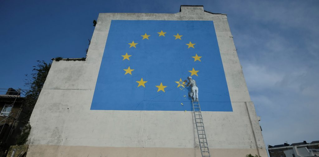 Banksy. Foto: Reuters