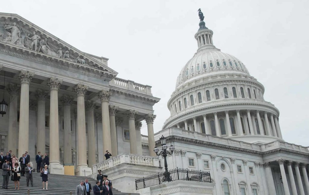 El Heraldo de México. Capitolio. Foto: AFP