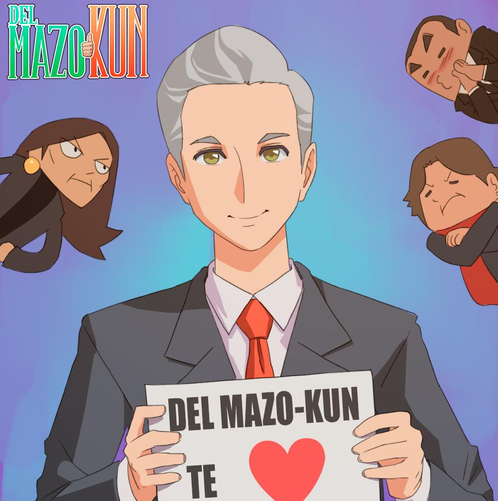 Combate Del Mazo a sus rivales con estilo manga