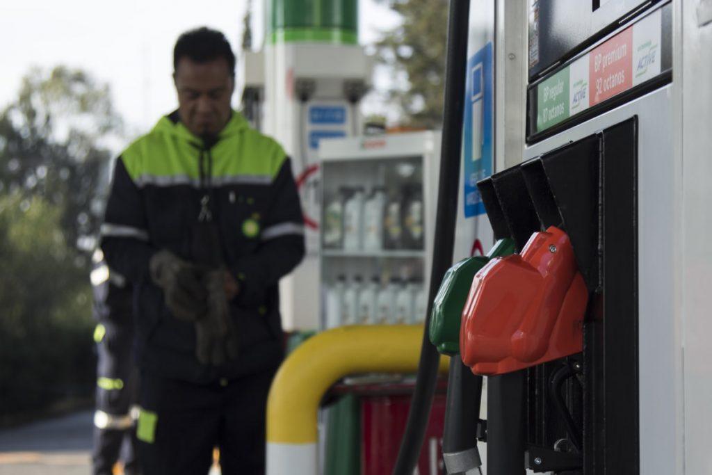 Gasolina. Foto: Cuartoscuro