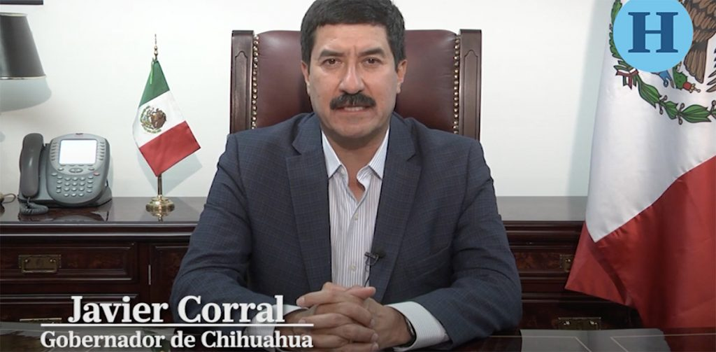 El gobernador Javier Corral habla sobre la detención Antonio Tarín