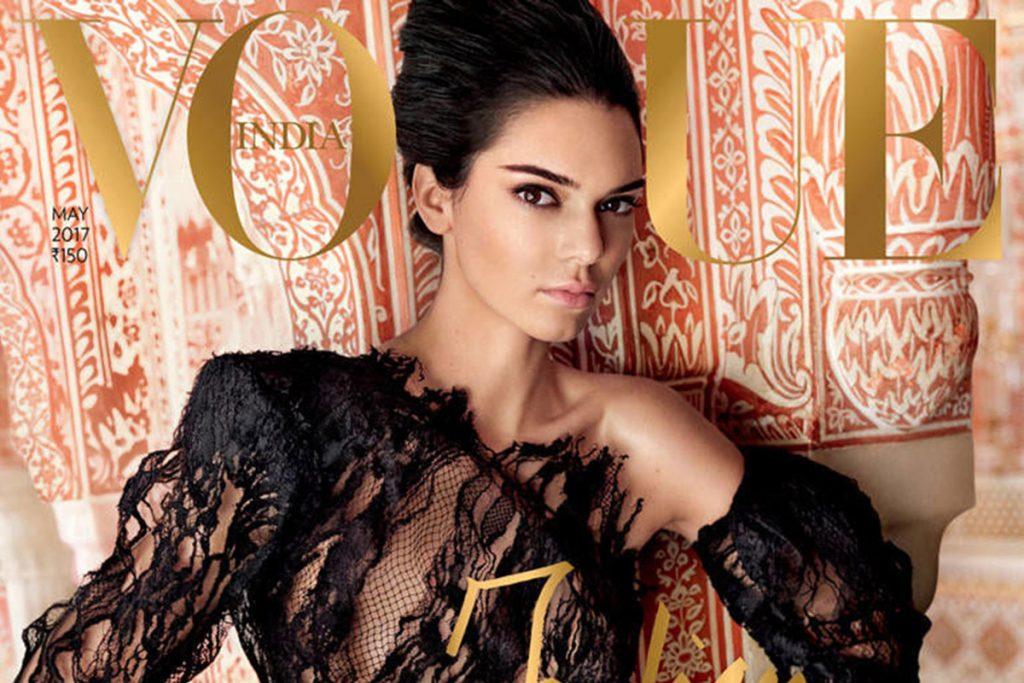Estalla escándalo en India por nueva portada de Kendall Jenner