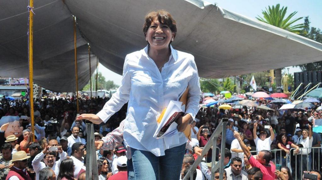 Delfina Gómez. Foto: Cuartoscuro