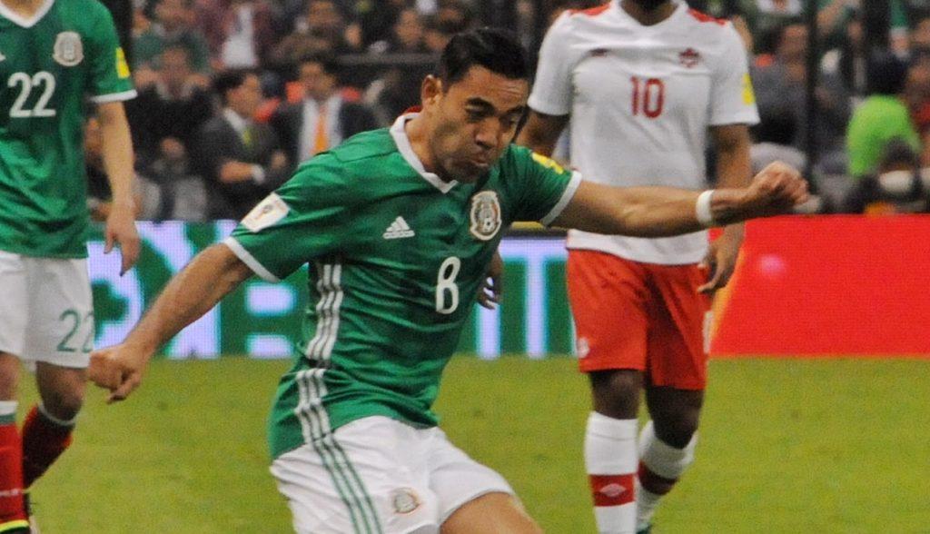 Tri. Marco Fabián ya se sumó a la selección mexicana.