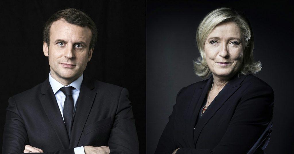 En redes sociales y medios de comunicación digitales, por cada mención negativa de Macron, Le Pen acumuló seis. FOTO AFP