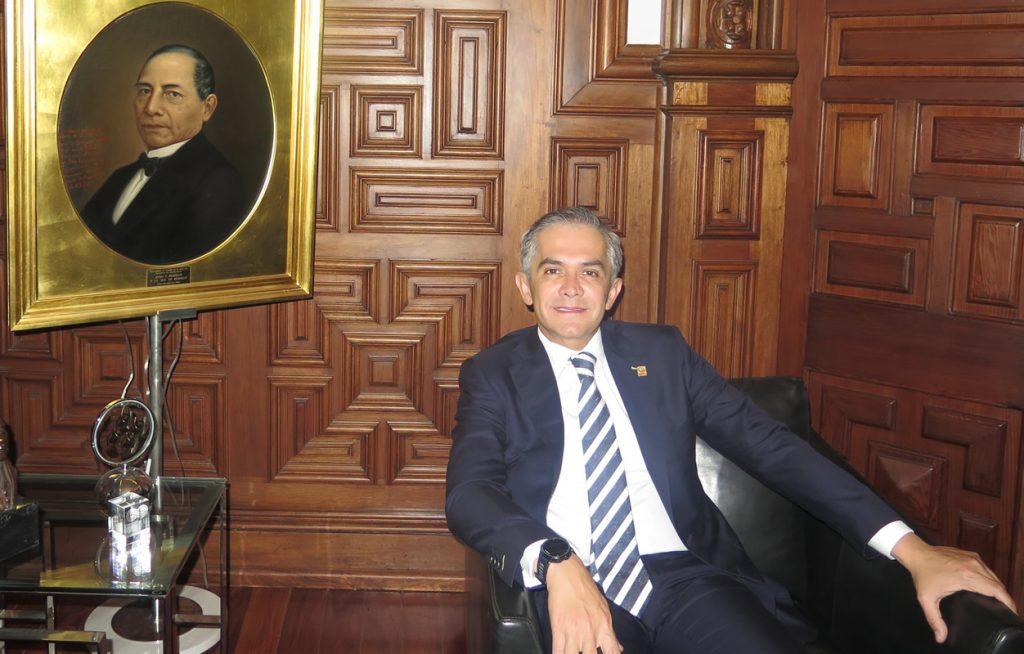 El Heraldo de México. Miguel Ángel Mancera. Foto: Manuel Durán