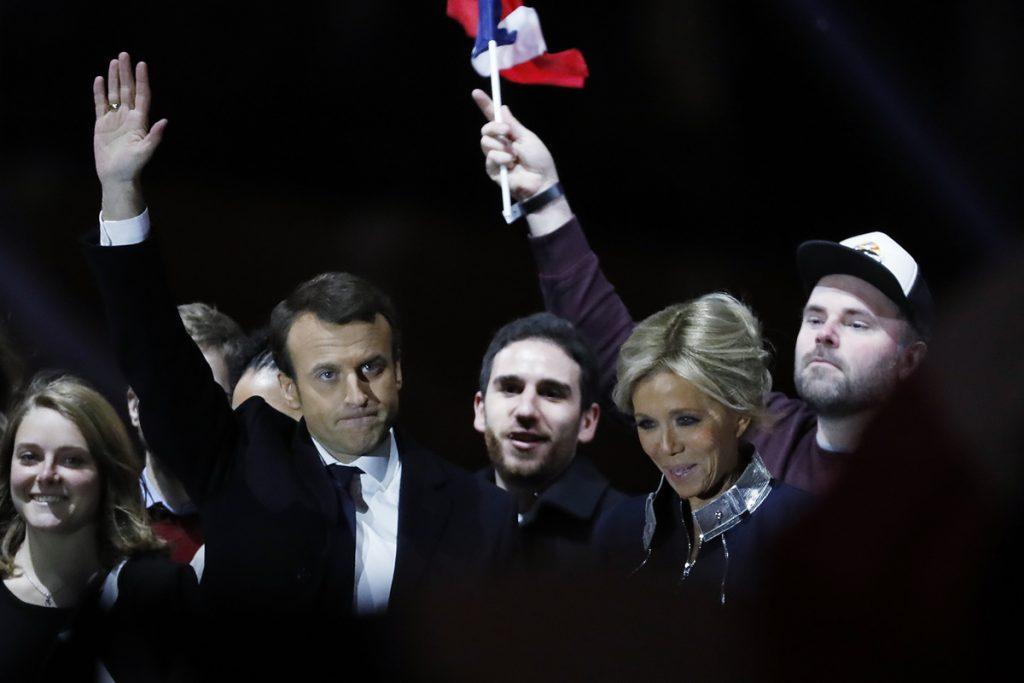 macron. Foto: AFP