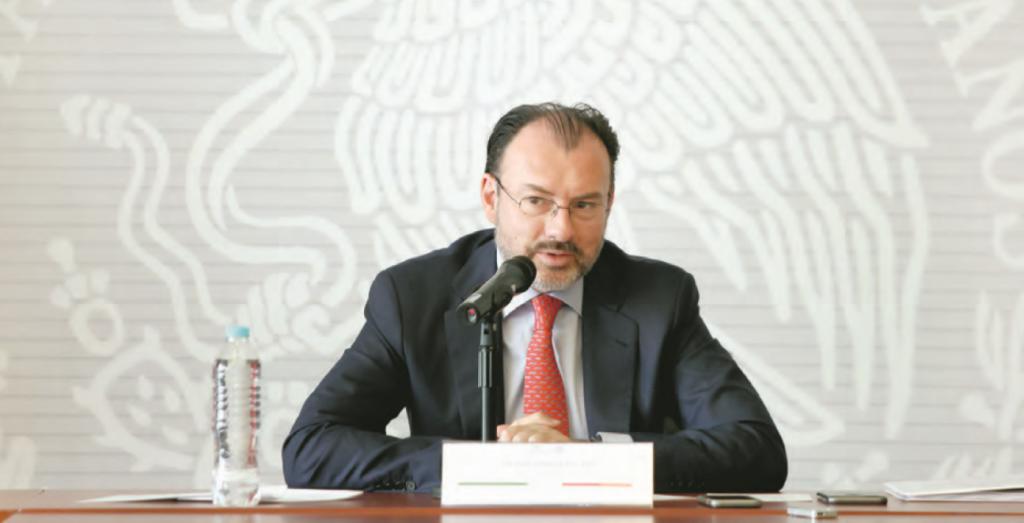 Luis Videgaray. FOTO: YADIRA GARCÍA