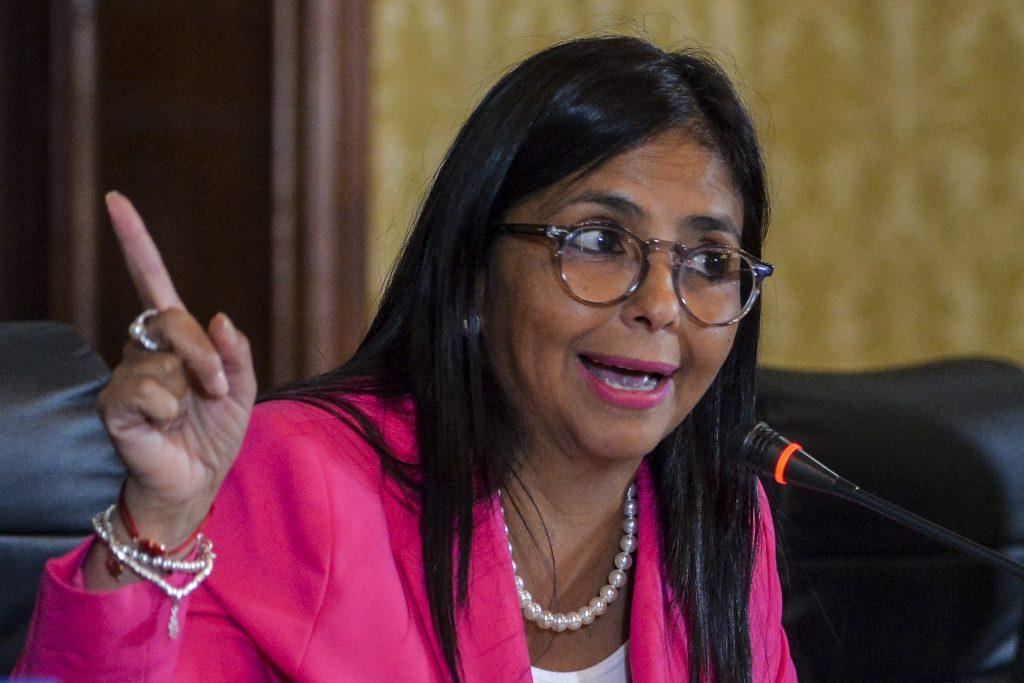 Delcy Rodríguez. AFP.