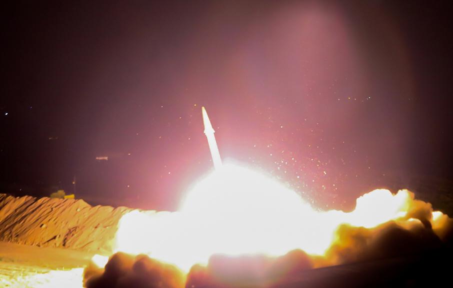 Los misiles recorrieron una distancia de 650 km. AFP/Irib TV