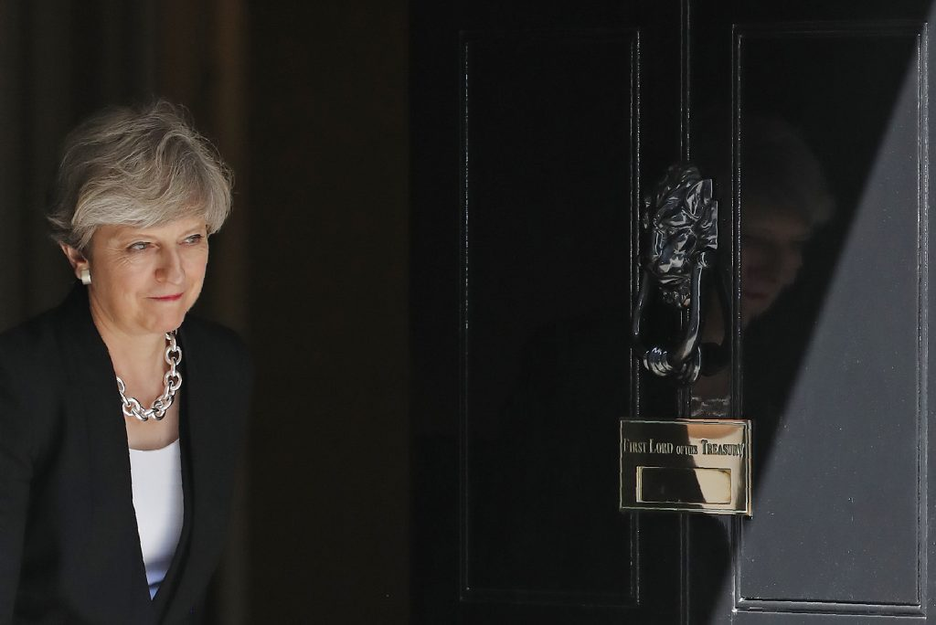 Theresa May / AFP PHOTO / Tolga AKMEN