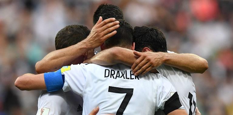 Alemania vs Chile – Copa Confederaciones. Foto: AFP