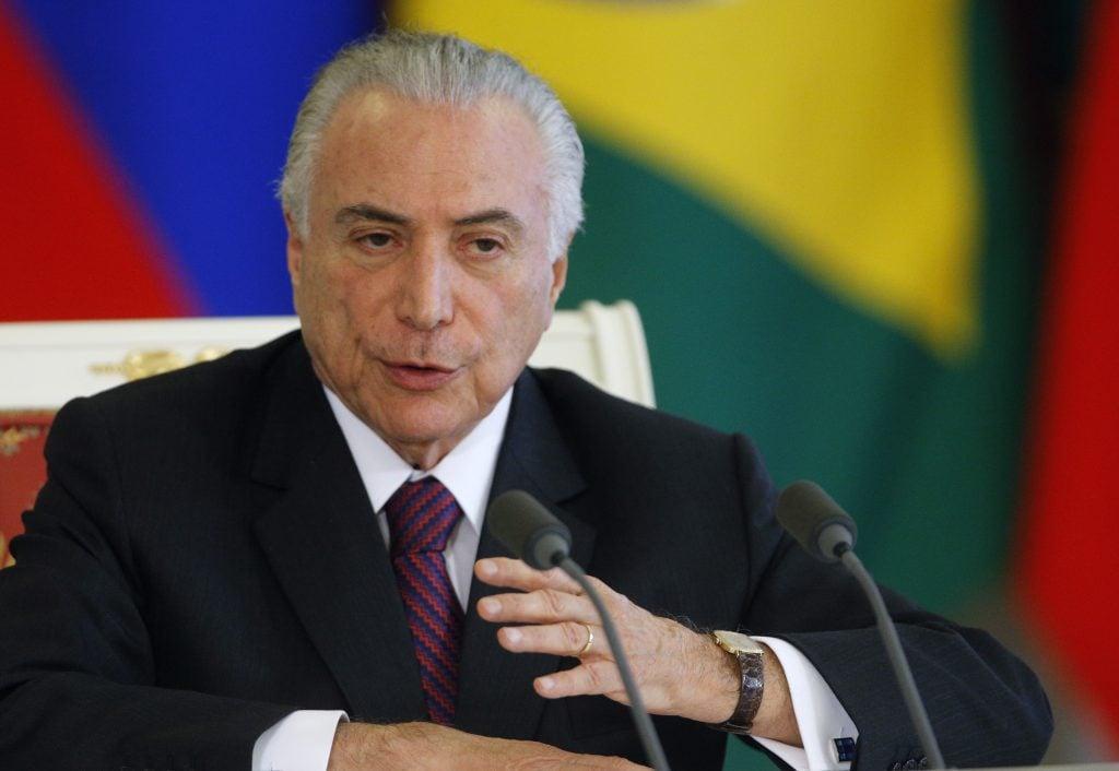 El presidente de Brasil ha negado las acusaciones de corrupción en su contra. AFP