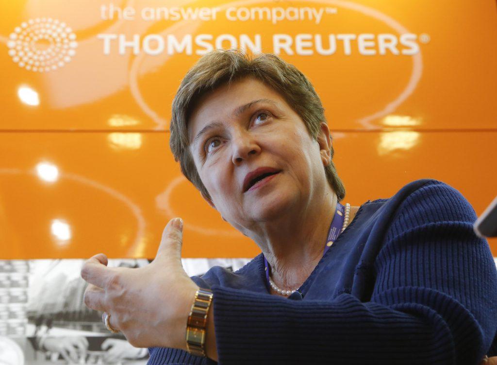 Kristalina Georgieva. REUTERS/Sergei Karpukhin