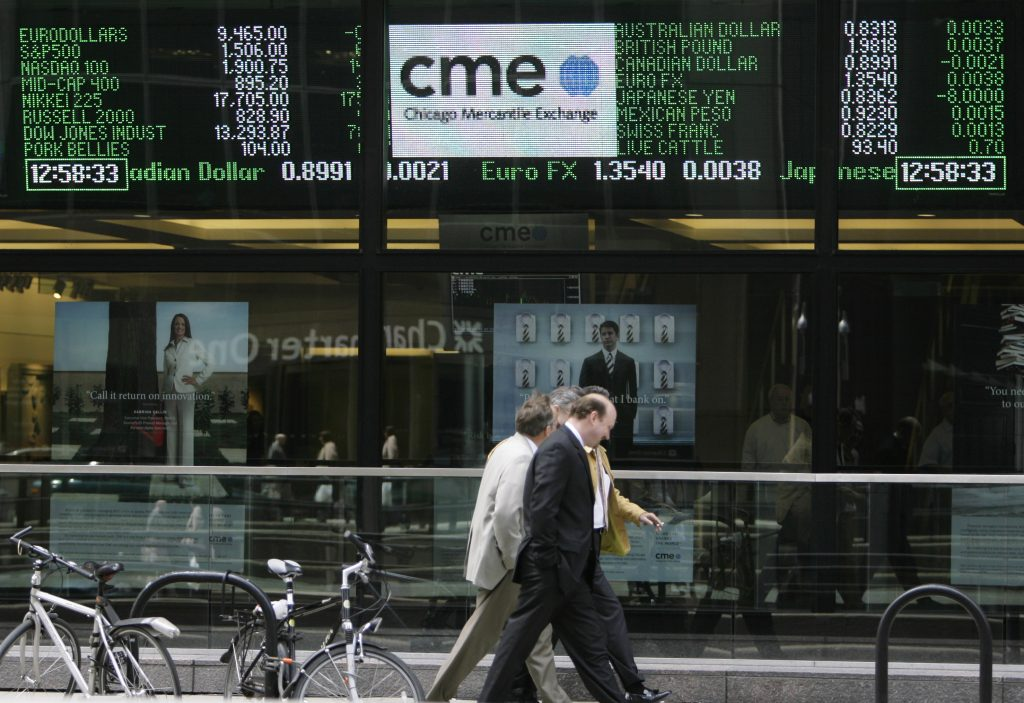 Chicago Mercantile Exchange (AP Photo/M. Spencer Green)